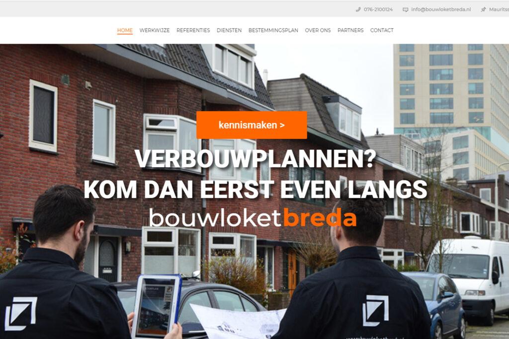 Webtekst voor Bouwloket Breda - Conntext