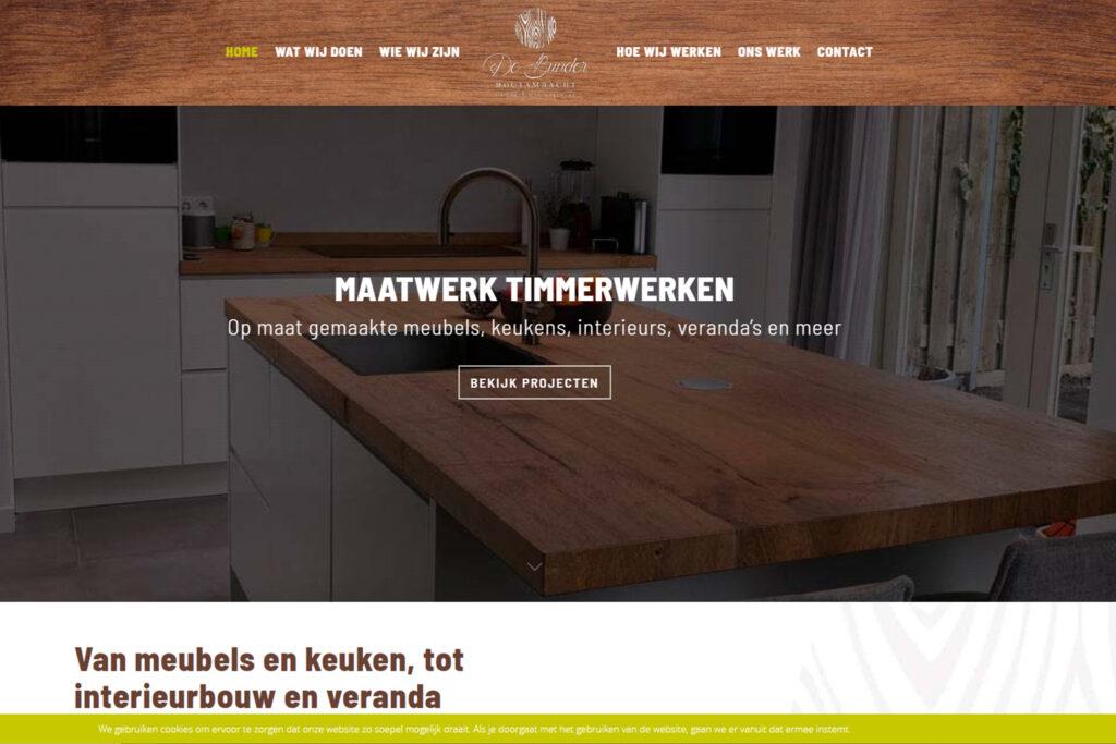 Webtekst voor De Bunder Houtambacht Hoeven - Conntext