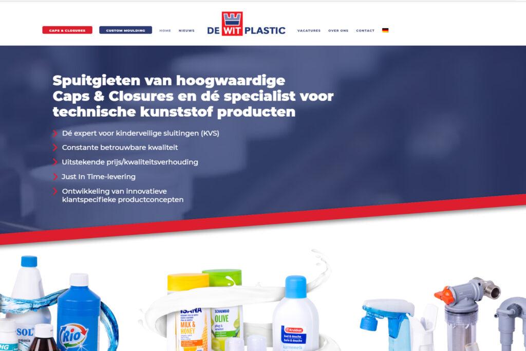 Webtekst voor De Wit Plastic Rucphen - Conntext