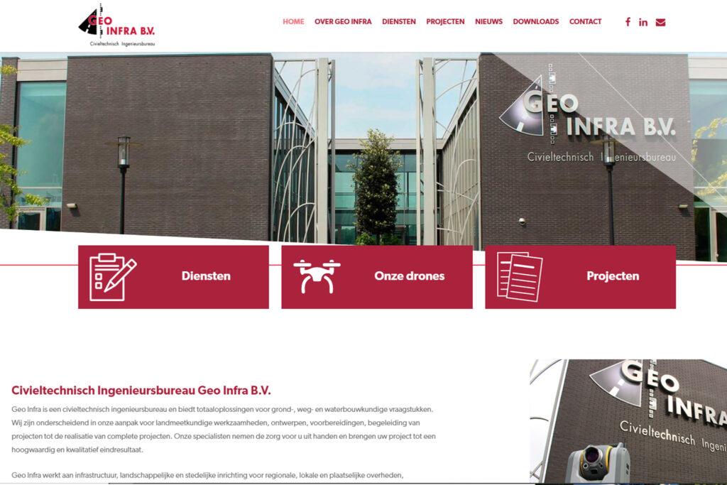 Webtekst voor Geo Infra Roosendaal - Conntext