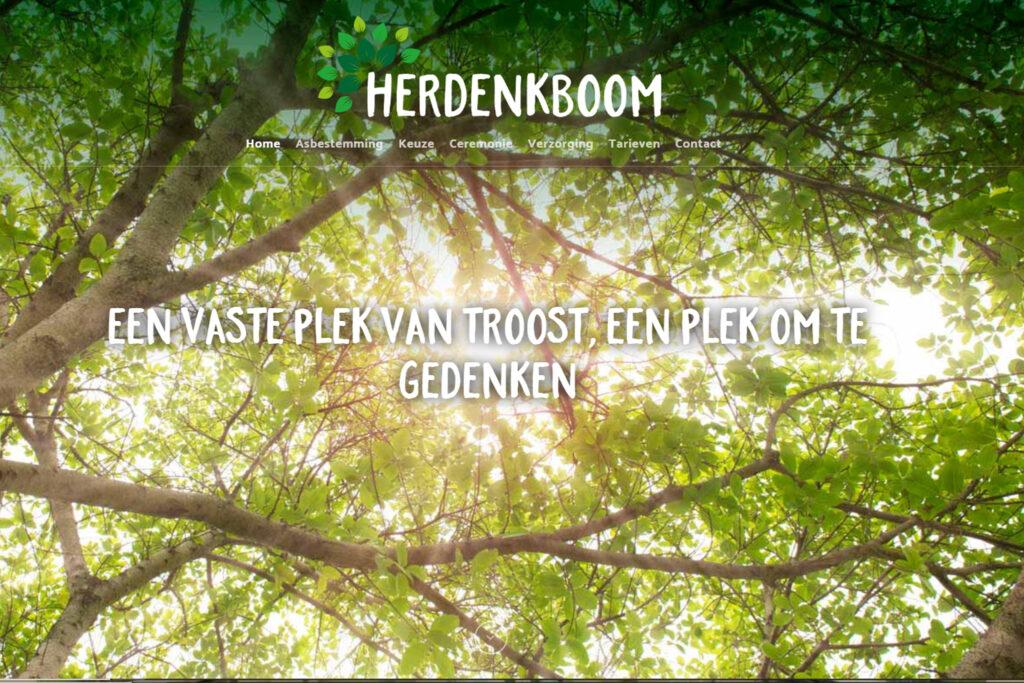 Webtekst voor Herdenkboom Oudenbosch - Conntext