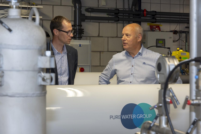 Bedrijfsfotografie Pure Water Group ITER Sprundel - Conntext